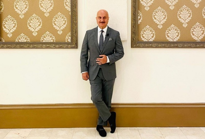 Anupam Kher Thanks Fans After Wrapping Up His 519th Film 'Shiv Shastri Balboa'