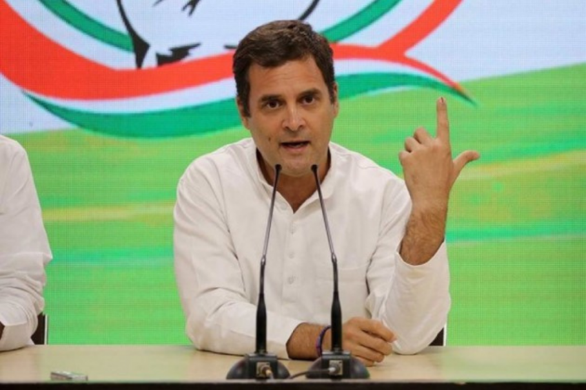 Rahul Gandhi Chides BJP Over Income Increase Through Electoral Bonds