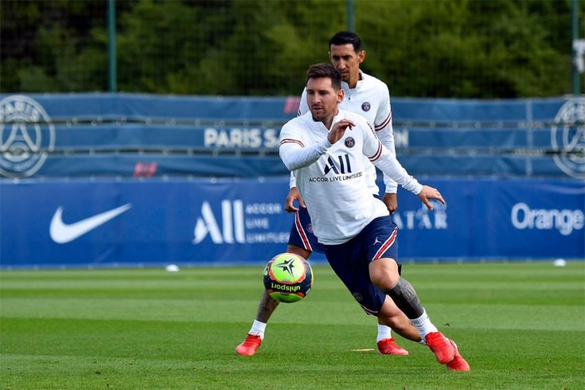 Lionel Messi Starts Preparation For PSG Debut In Ligue 1