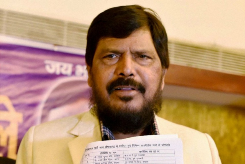 Athawale Urges BJP, Shiv Sena To Come Together For Maharashtra's Development