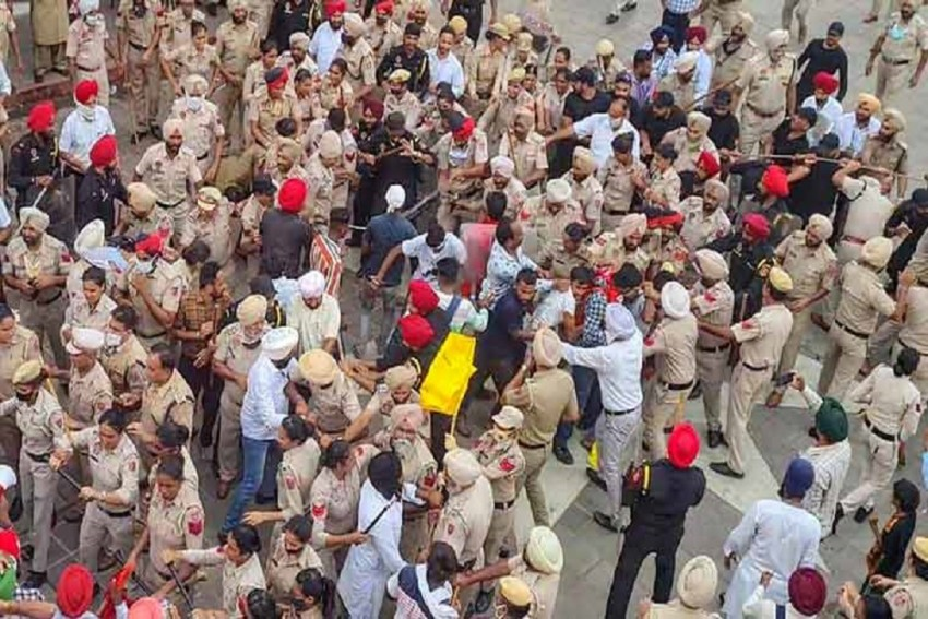 Haryana Police Action Likely To Intensify Farmers Protest Across The Country