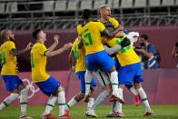 Tokyo Olympics: Brazil To Play Spain In Men's Football Gold-medal Match