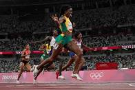 Tokyo Olympics: Elaine Thompson-Herah Speeds To 200m Sprint Gold