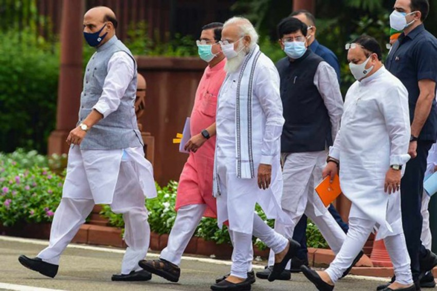 Prime Minister Narendra Modi Slams Opposition Leaders For Their Conduct In Parliament