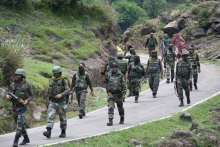 Unidentified Militant Killed In Ongoing Encounter In J&K's Bandipora
