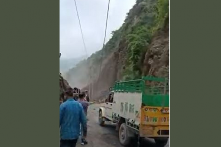 Watch: Landslides Hit Solan, Sirmaur Districts Of Himachal Pradesh, Search On For Trapped People