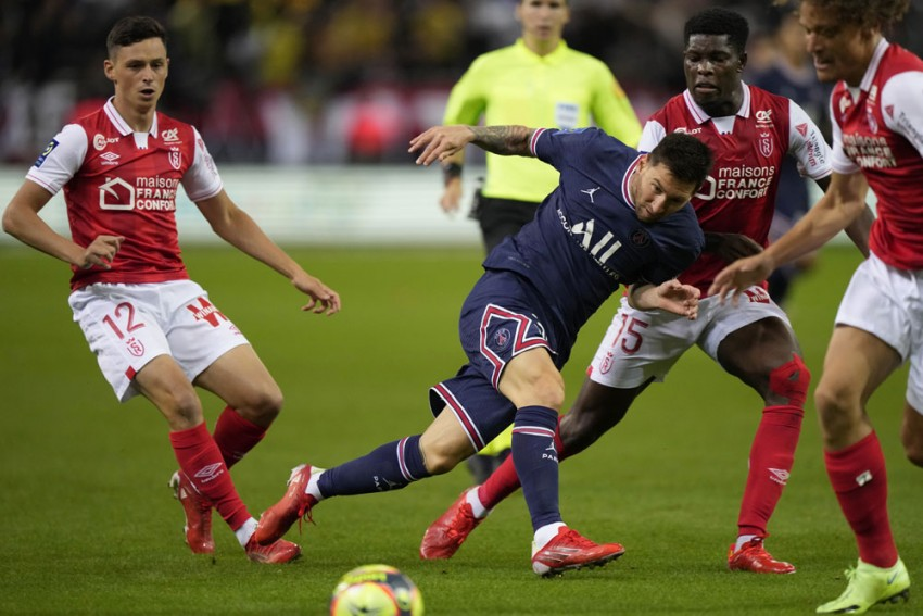 Lionel Messi Makes Ligue 1 Debut, But Wantaway Kylian Mbappe Steals The Show As PSG Beat Reims