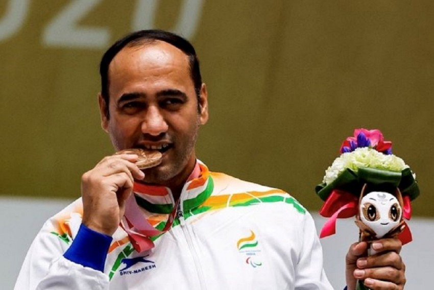 Singhraj Adhana Built Shooting Range At Home In His Quest For Tokyo Paralympic Medal