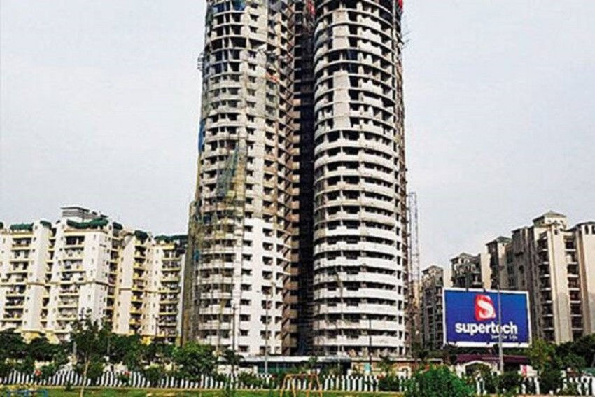 SC Directs Demolition Of 40-Storey Twin Towers Of Supertech's Emerald Court Project In Noida