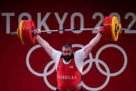 Tokyo Olympics: Weightlifter Lasha Talakhadze Sets Three New World Records, Wins Gold
