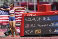 Tokyo Olympics: Sydney McLaughlin Wins Women's Hurdles Gold Medal, Sets World Record