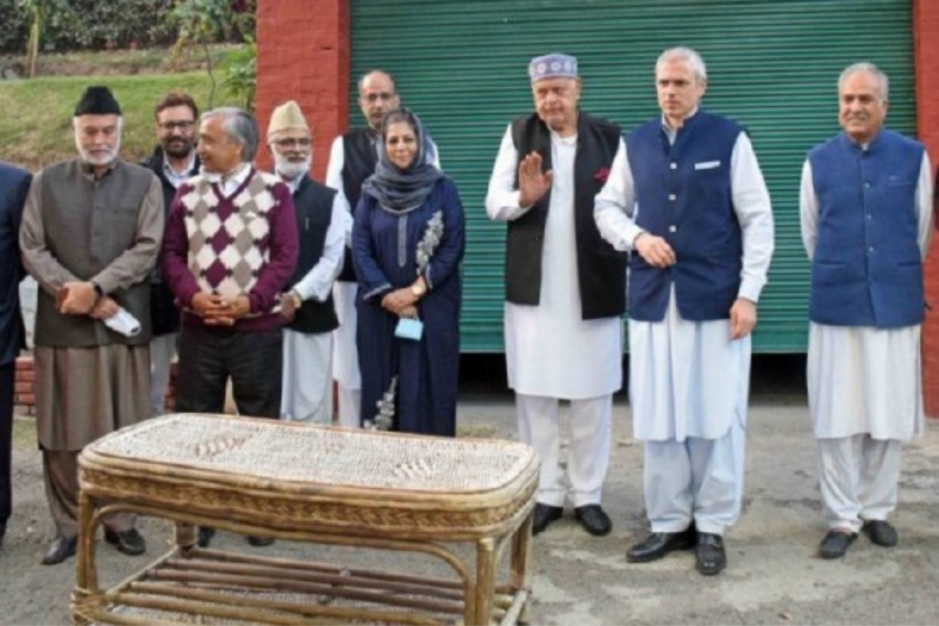 'Naya Kashmir A Joke, J&K Remains Far From Heart Of India': PAGD