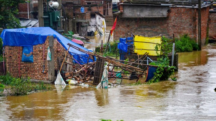 Heavy Rainfall Inundates Parts Of Rajasthan After Himachal And MP