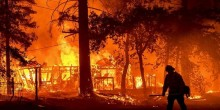 Raging Wildfire Destroys Much Of California Gold Rush Town