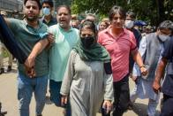 Second Anniversary Of Article 370 Abrogation: BJP Celebrates, PDP March Stopped
