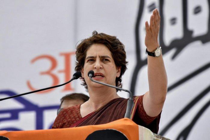 Revoking Farm Laws Is Mandatory To Ensure Food Security In The Country: Priyanka Gandhi