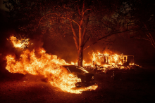 Wildfire Wreaks Havoc Across Northern California; Homes, Business Left Smoldered