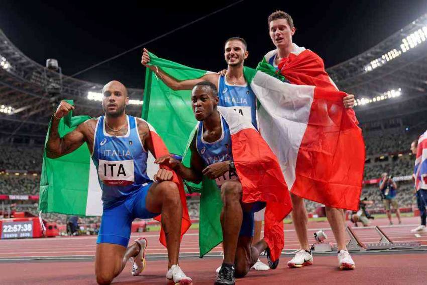 Tokyo Olympics: Its Italy Again As Marcell Jacobs Backs Up 100m Gold With 4x100m Relay Win