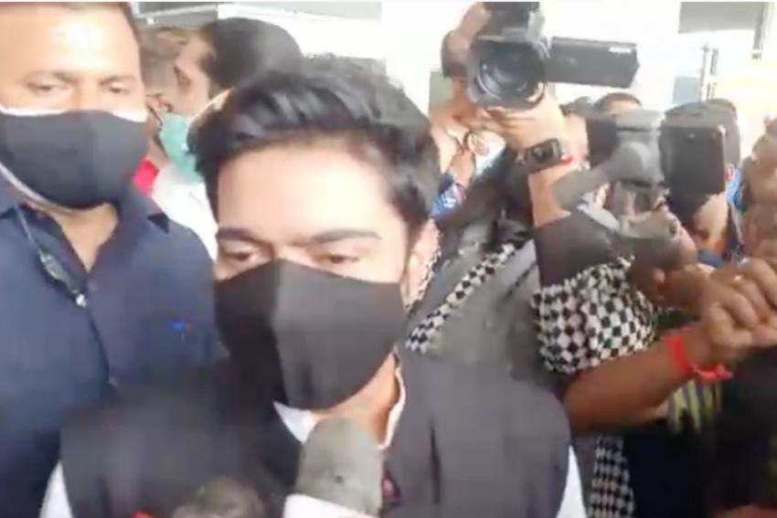 Abhishek Banerjee Back In Tripura Amid Arrests, Alleged Assault Of TMC Leaders