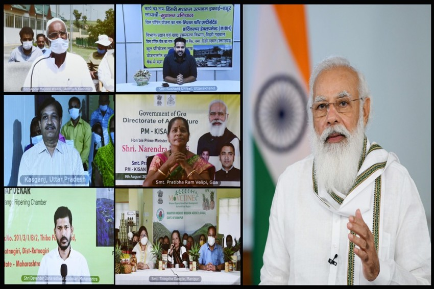 PM Releases 9th Instalment Of PM-KISAN