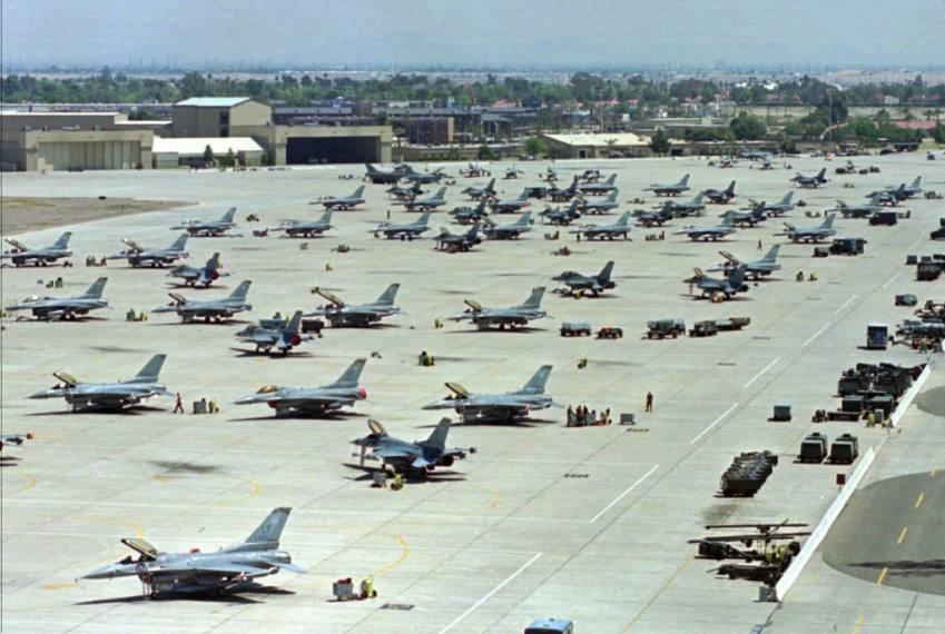 Report Of Gunshot Triggered Lockdown At US Air Force Base