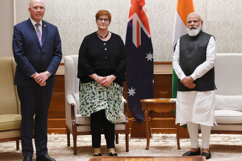 Australian Foreign, Defence Ministers Meet PM Narendra Modi