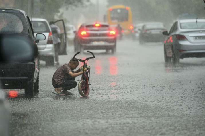Heavy Downpour Lashes Delhi, Leaves Parts Of Airport And City Waterlogged