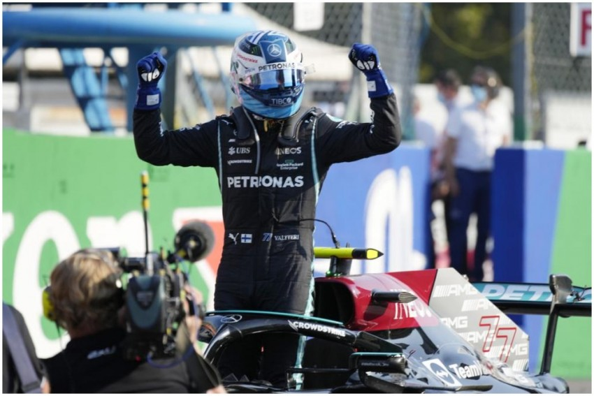 Formula One: Valtteri Bottas Wins Sprint At Italian GP; Max Verstappen Takes Pole