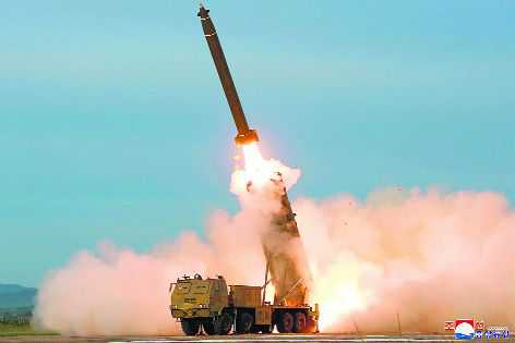 North Korea Tests Missiles After A Stressful Pandemic Break