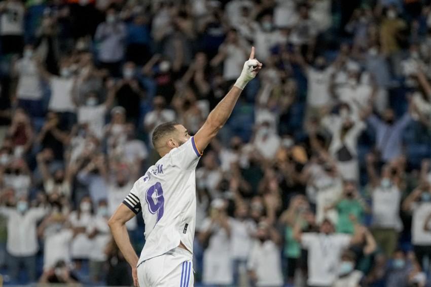 La Liga: Karim Benzema Hat-trick Marks Real Madrid's  Winning Return To Santiago Bernabeu