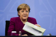 Merkel's Party In Strong Position In North German State Elections