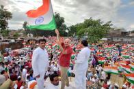 UP Polls: 'Ram Rajya', Nationalism In Focus As AAP Kicks Off Tiranga Yatra In Ayodhya