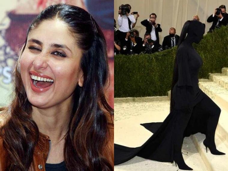 Met Gala 2021: Kareena Kapoor Khan Has A Hilarious Question For Kim Kardashian's Dress