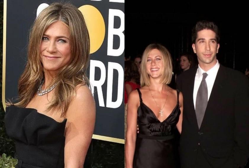 Jennifer Aniston Calls Dating Rumours With 'Friends' Co-star David Schwimmer 'Bizzare'
