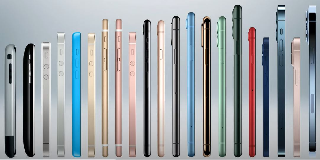 Apple iPhone Over The Years