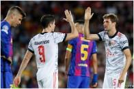 Champions League: Bayern Munich Top Barcelona; Man United Lose, Romelu Lukaku Powers Chelsea