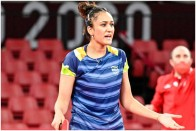 Disciplined? TTFI Leaves Out Star Manika Batra From India's Asian Championships Squad