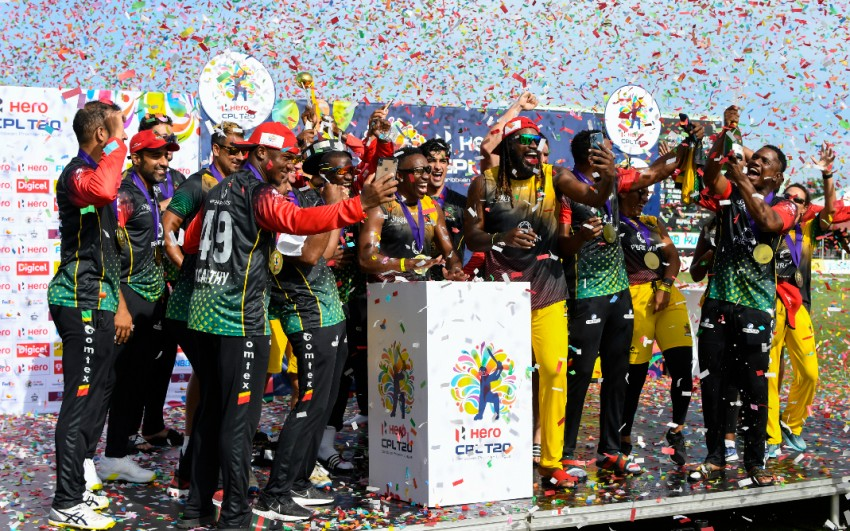 CPL 2021: St Kitts and Nevis Patriots Clinch Last-Ball Thriller To Lift Maiden Title