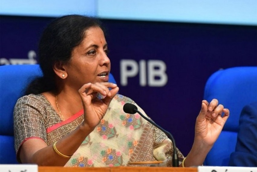 FM Sitharaman Announced Setting Up Of National Asset Reconstruction Company