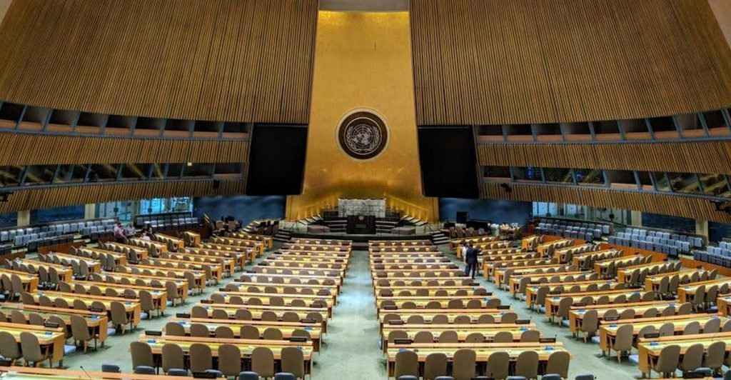 UN Delegates Asked To Show Vaccine Proof In New York