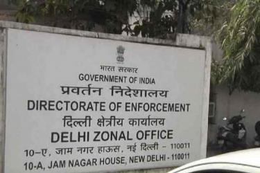 ED Raids Harsh Mander's Premises In Delhi In Alleged Money Laundering Case