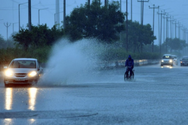 Rains Lash Several Parts Of Delhi As IMD Predicts Strong Winds During The Day