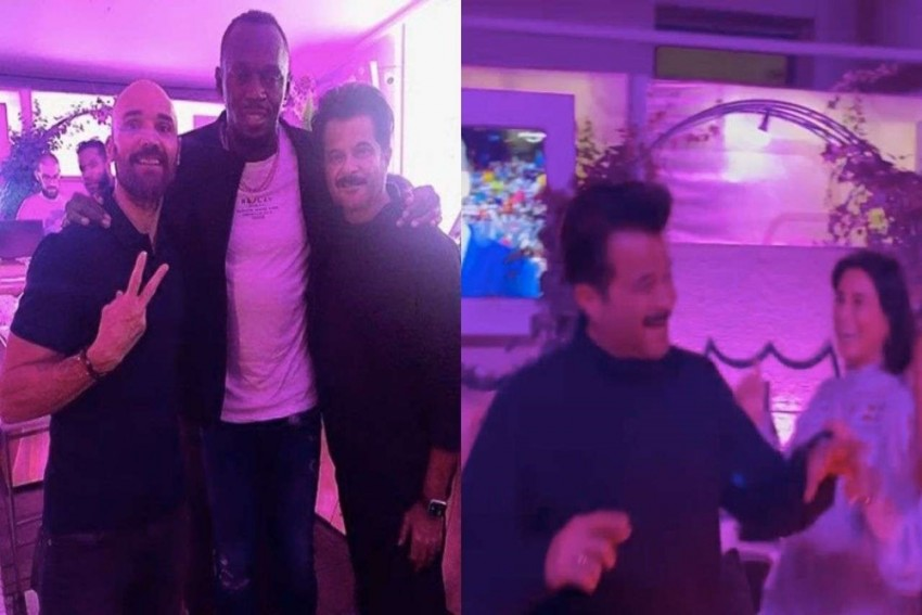Watch: Anil Kapoor Parties With Usain Bolt and Mo Farah