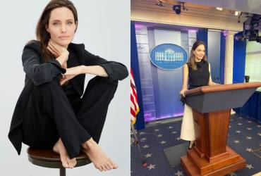 Angelina Jolie Visits White House To  Discuss Violence Against Women Act
