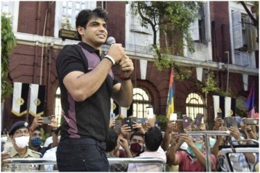 Tokyo 2020 Champion Neeraj Chopra Wants To Break Olympic Record In Javelin