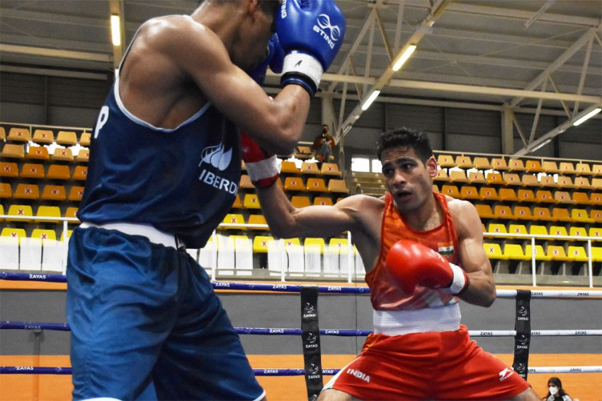 National Boxing Championships: Mohammad Hussamuddin Enters Quarterfinals