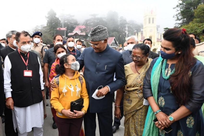 Popcorns, Photos And A Leisure Walk, Prez Kovind Makes Public Appearance At The Ridge