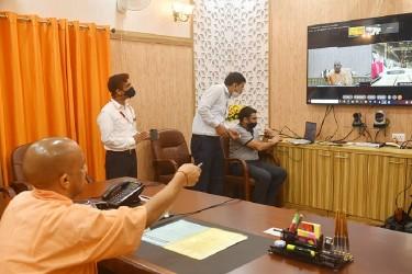 Yogi Adityanath Unveils First Prototype Of Kanpur And Agra Metro