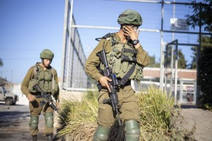 Israeli Army Arrests Last 2 Of 6 Palestinian Prison Escapees