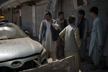 Islamic State Claims Responsibility For Attacks On Taliban